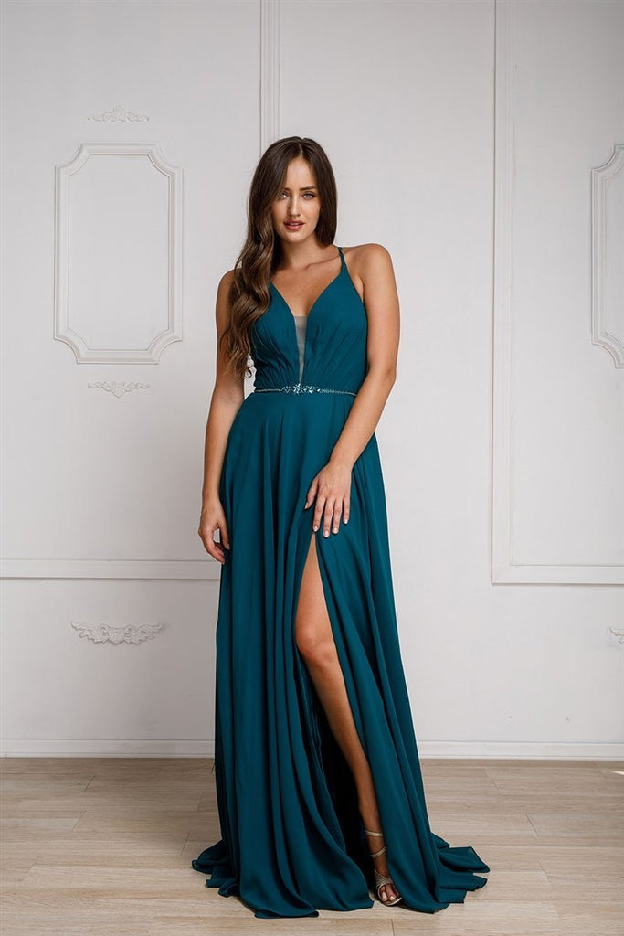 Wholesale Long Celebrity Long Evening Gowns ACSU026