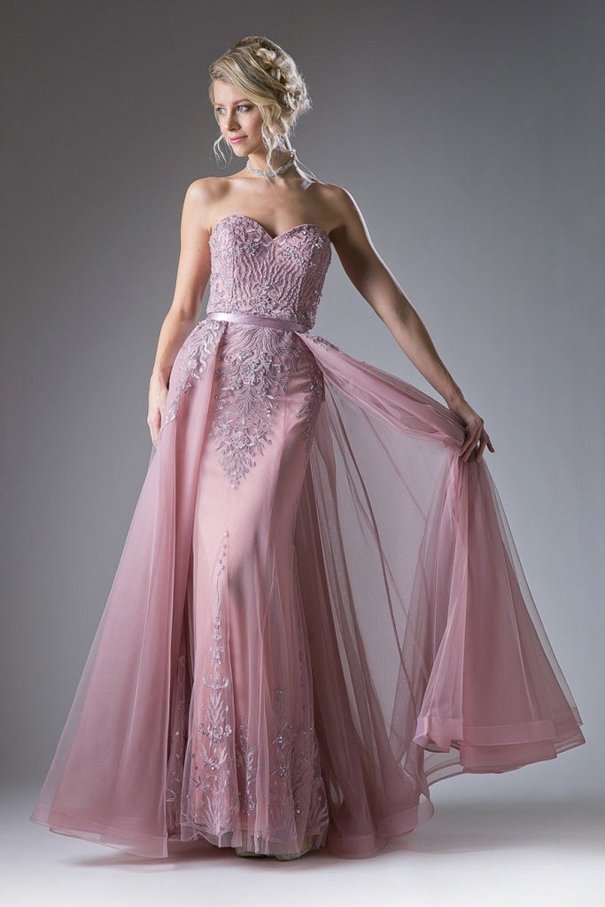 Sweetheart Neckline Long Prom Dress CDA5081