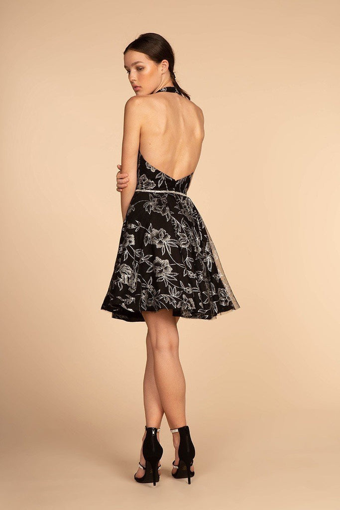 cheap Cute cheap Homecoming Dresses with Halter neckline GSGS1629-Homecoming Dresses | alwaysprom.com-alwaysprom.com