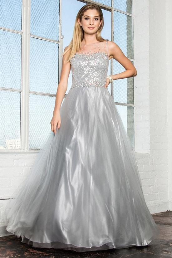 Long Evening Gown GSGL2111-Sale-alwaysprom.com