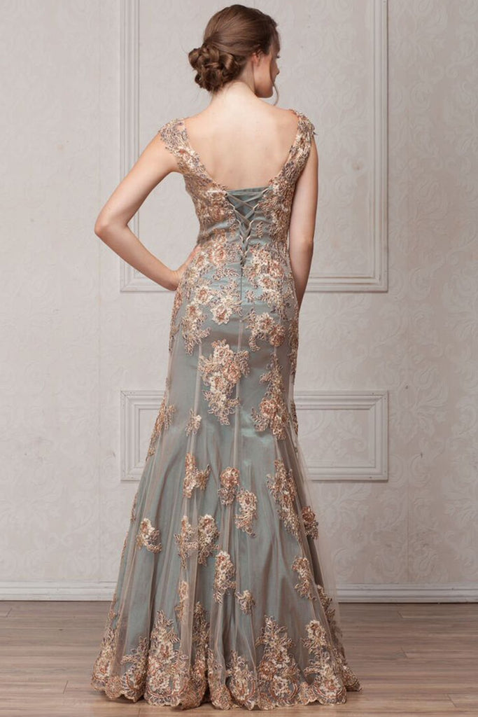 Elegant Long Beautiful Evening Gowns AC766-Long Dresses-alwaysprom.com