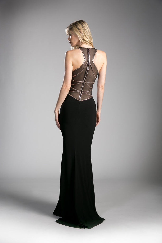 Wholesale Long Sleeveless Sheath Formal Prom Dress Gown CD0116-Evening Dresses | alwaysprom.com-alwaysprom.com