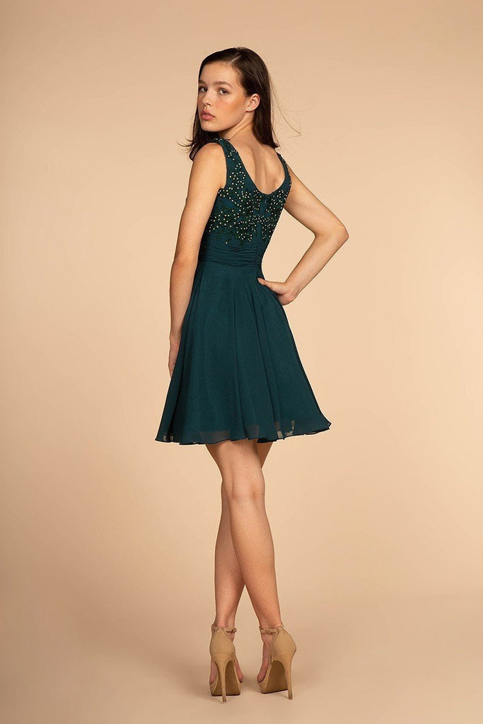 Short affordable Best Cocktail Dresses GSGS1612-Cocktail Dresses | Plus size Cocktail Dresses-Alwaysprom.com