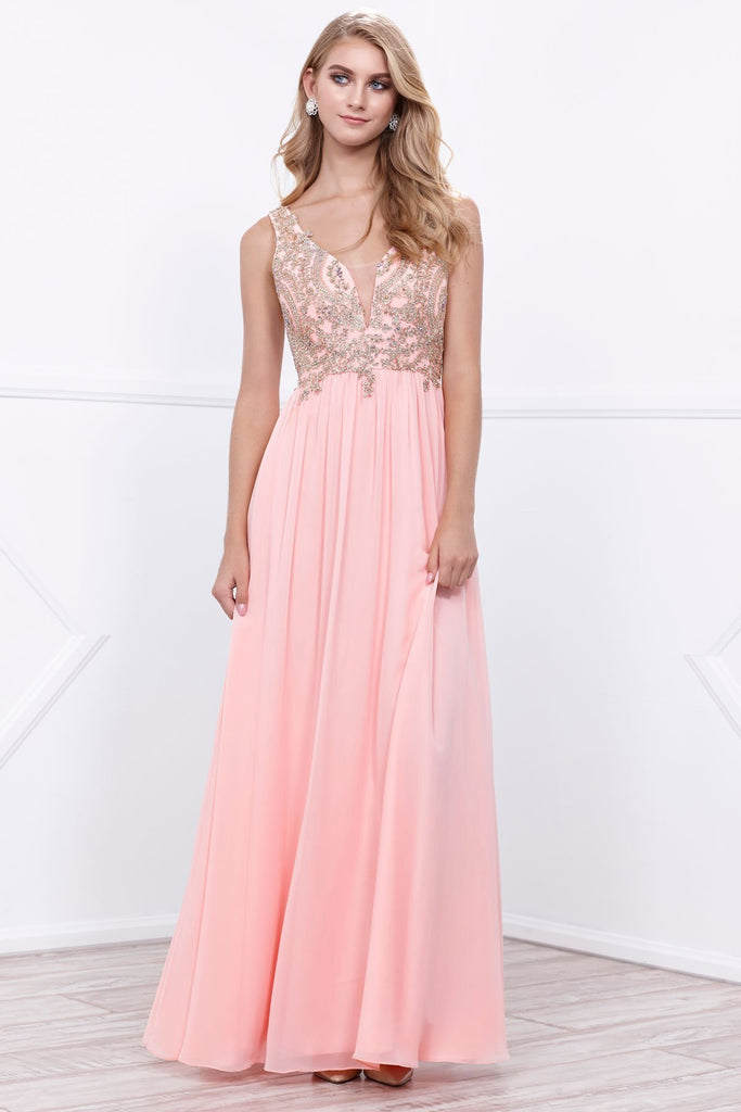 Sleeveless Celebrity Prom Dresses NX8343-Prom Dresses-alwaysprom.com