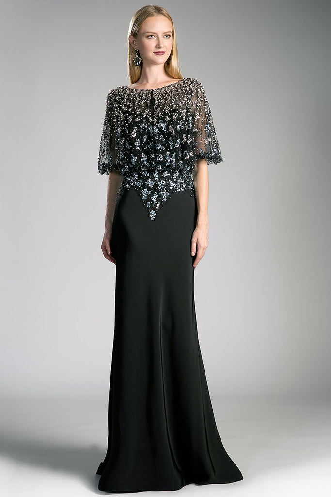 Mother Of Bride Elegant Dress CDCZ0013-Mother of the Bride Dresses-alwaysprom.com