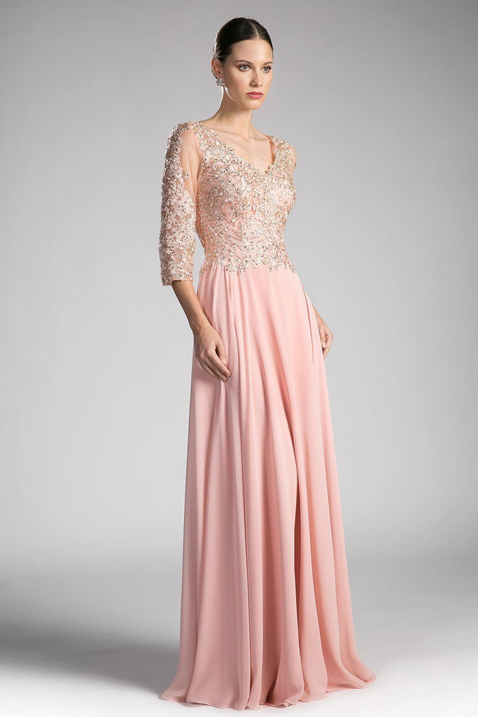 Wholesale Formal Evening Mother Of The Bride Long Gown Dress CD0122-Mother of the Bride Dresses | alwaysprom.com-alwaysprom.com
