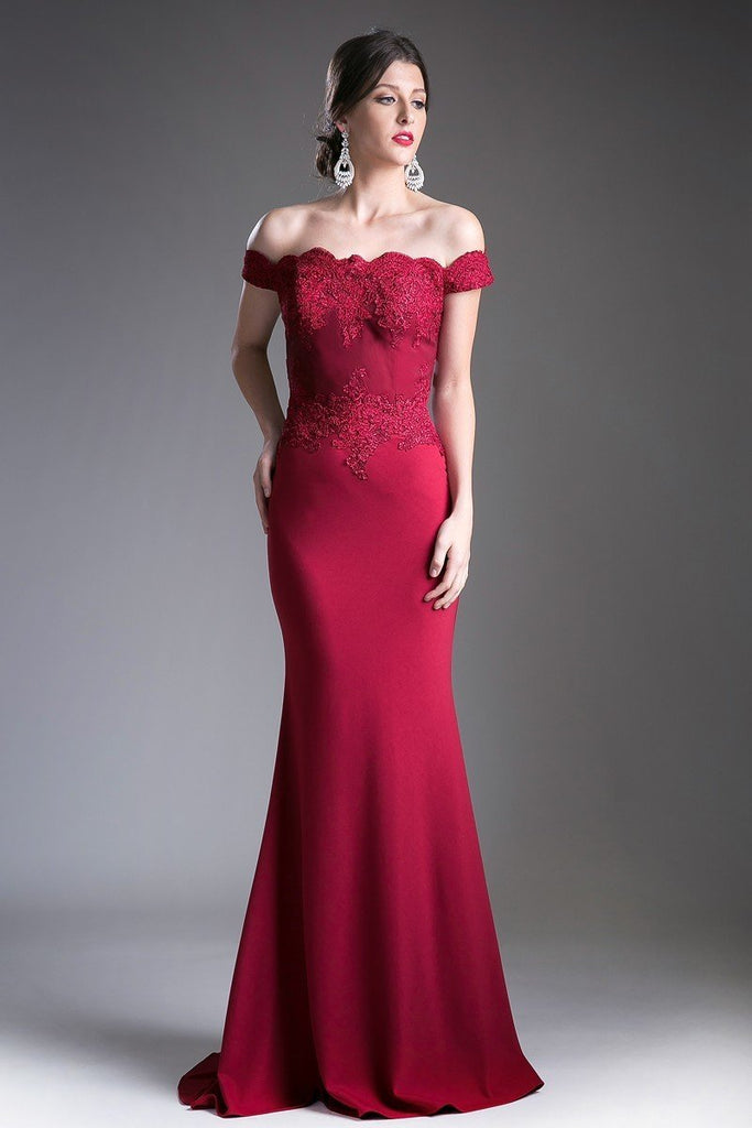 cheap Off The Shoulder Long Maxi Evening Bridsmaid Long Dress 2019 CDCF158-Bridesmaid Dresses | cheap Bridesmaid Dresses-alwaysprom.com