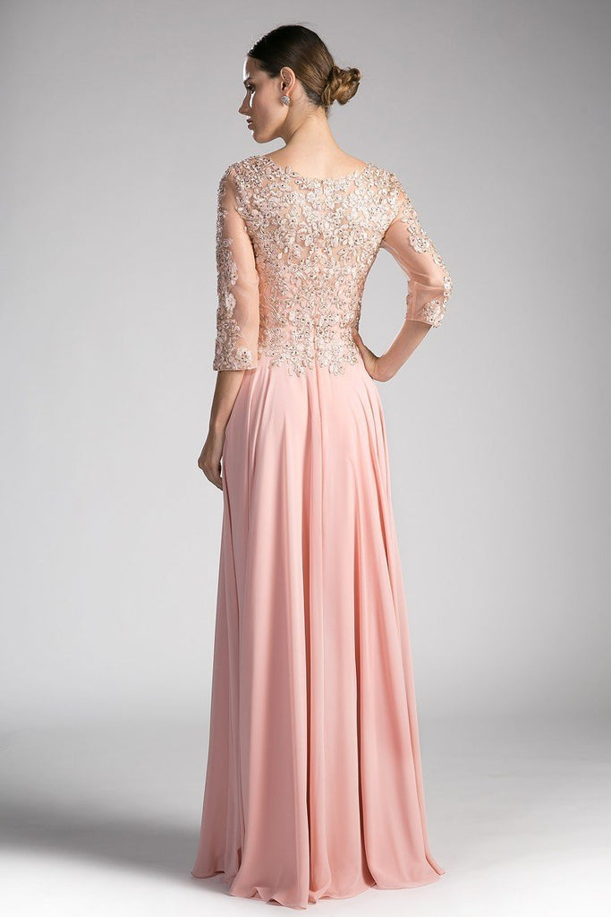 cheap Formal Evening Mother Of The Bride Long Gown Dress CD0122-Mother of the Bride Dresses | alwaysprom.com-alwaysprom.com