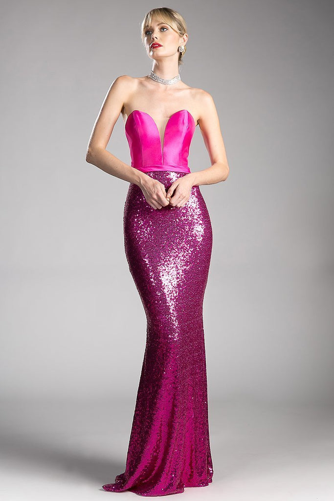 Beaded Gowns for Formal Evening CDJS0407-Long Dresses-alwaysprom.com