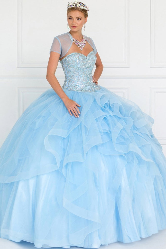 Sweetheart Long Ball Gown With Open Back GSGL1551-Long Dresses-alwaysprom.com