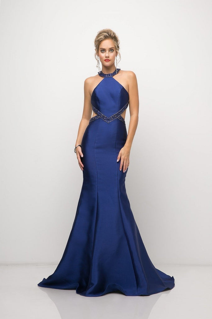 Trendy Open Back Beaded evening Prom Formal Mermaid Dress CDJ767-Evening Dresses | alwaysprom.com-alwaysprom.com