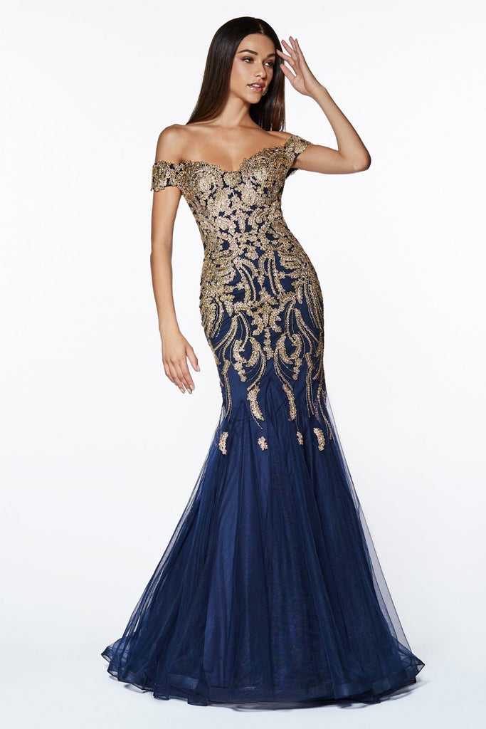 Sweetheart Bateau Neckline Mermaid Long Prom Dress CDKV1035