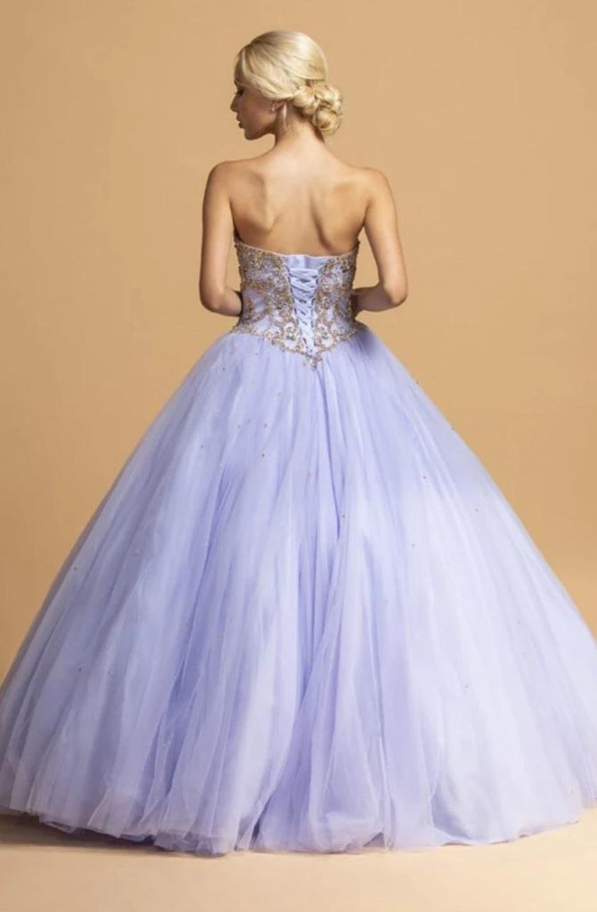 Sweetheart Neckline Ballgown Long Dress APL2243