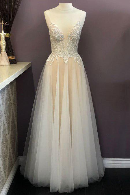 Wholesale Maxi Spaghetti Straps Evening Prom Dress AC921-Bridesmaid Dresses | wholesale Bridesmaid Dresses-alwaysprom.com