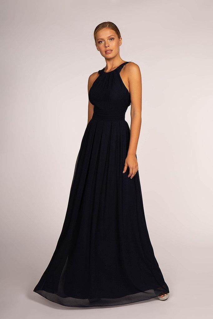 Wholesale Evening Open Back Bridsmaid A-Line Dress Gown GSGL2605-Bridesmaid Dresses | wholesale Bridesmaid Dresses-alwaysprom.com
