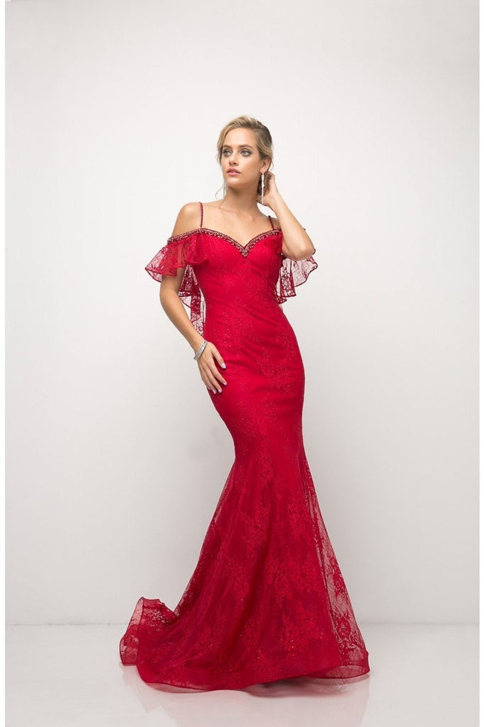 Celebrity Formal Evening Off The Shoulder Lace Mermaid Gown Dress CDUH552-Evening Dresses | alwaysprom.com-alwaysprom.com