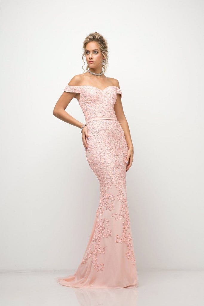 NEW Off-Shoulder Sweetheart Neckline Mermaid Long Prom Dress CDUK012