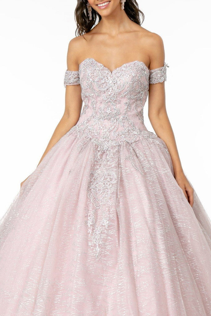 Sweetheart Neckline Cape Cute Long Prom Dress GSGL2914