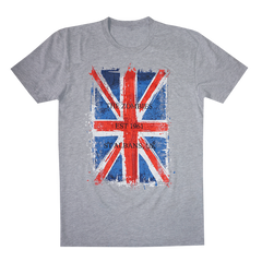Saturated Union Jack Tee