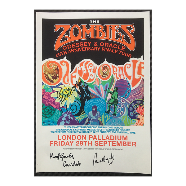 Signed Odessey & Oracle Palladium Poster