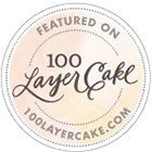 Featured on 100 Layer Cake Badge