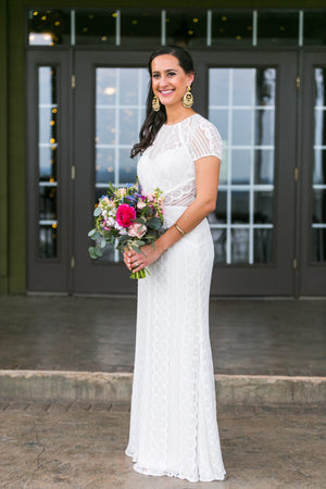 BHLDN Wtoo by Watters Monica Lenora Gown