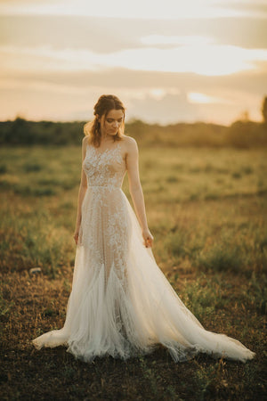 BHLDN Willowby Capricorn 52715 Gown
