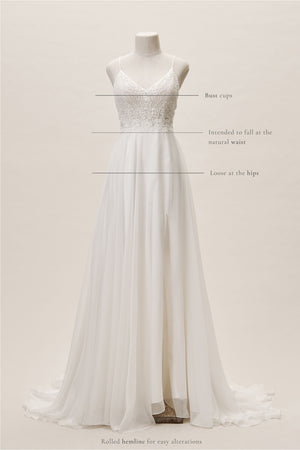 BHLDN Whispers & Echoes Cairo Gown