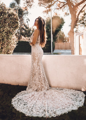 BHLDN WTOO Dixie Delphinia Gown
