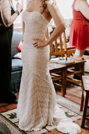 BHLDN Wtoo by Watters Pippin 13111 Gown