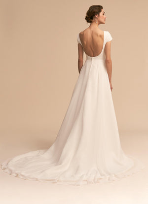 BHLDN Whispers & Echoes Crest Gown