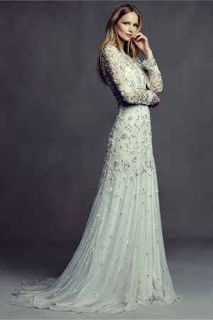 BHLDN Needle & Thread Tabitha Gown - Defects