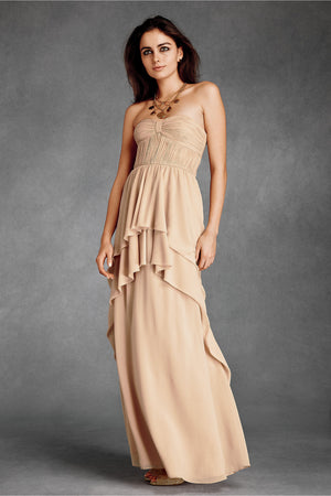 BHLDN Aqueous Column Dress