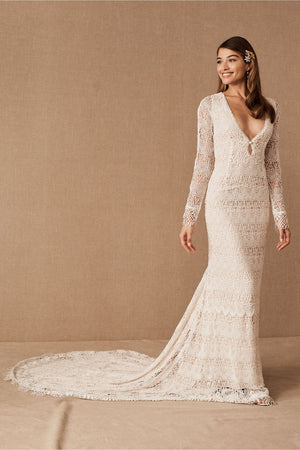 BHLDN Daughters of Simone Danni Gown