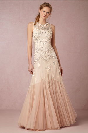 BHLDN Needle & Thread Cate Gown