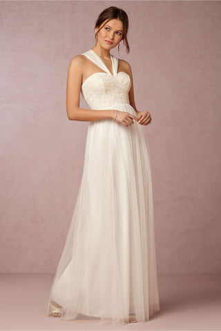 BHLDN Jenny Yoo Juliette Dress - Ivory