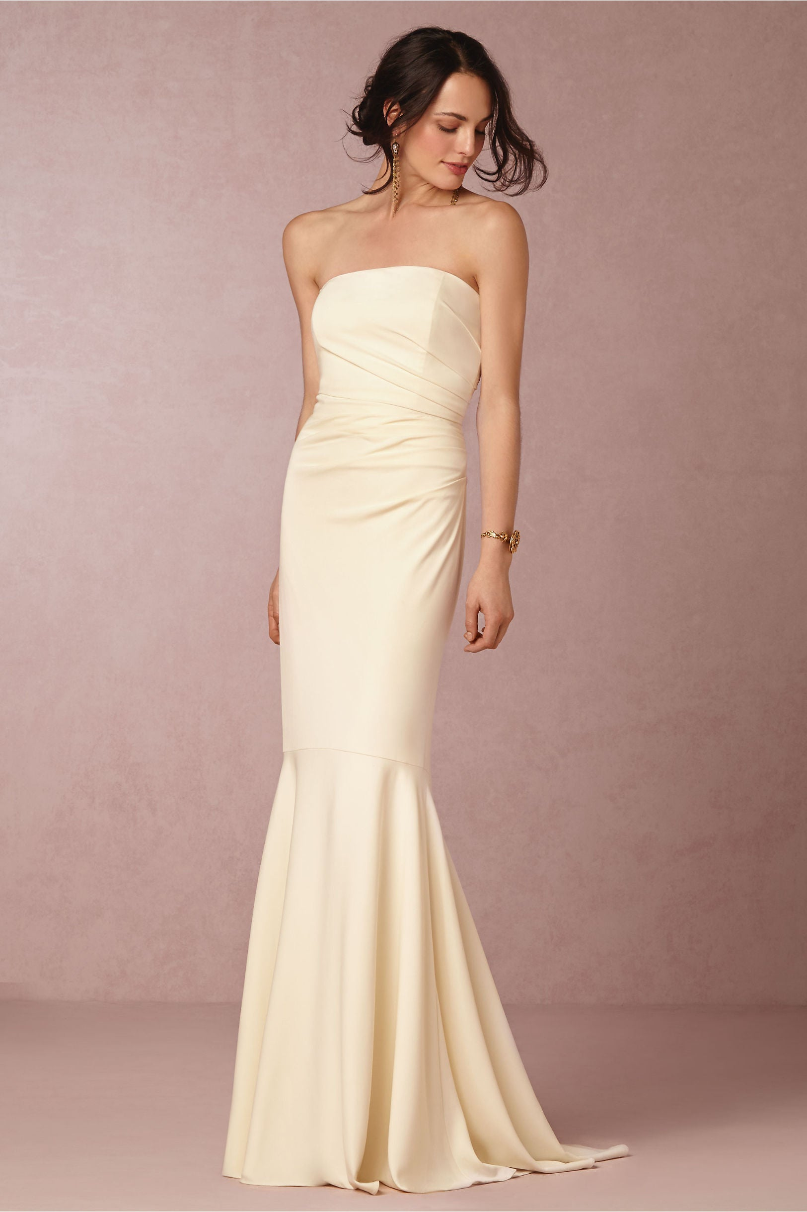 BHLDN Badgley Mischka Clover Gown