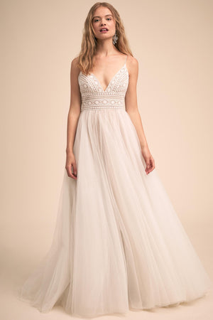 BHLDN Willowby by Watters Thistle Colbie Gown