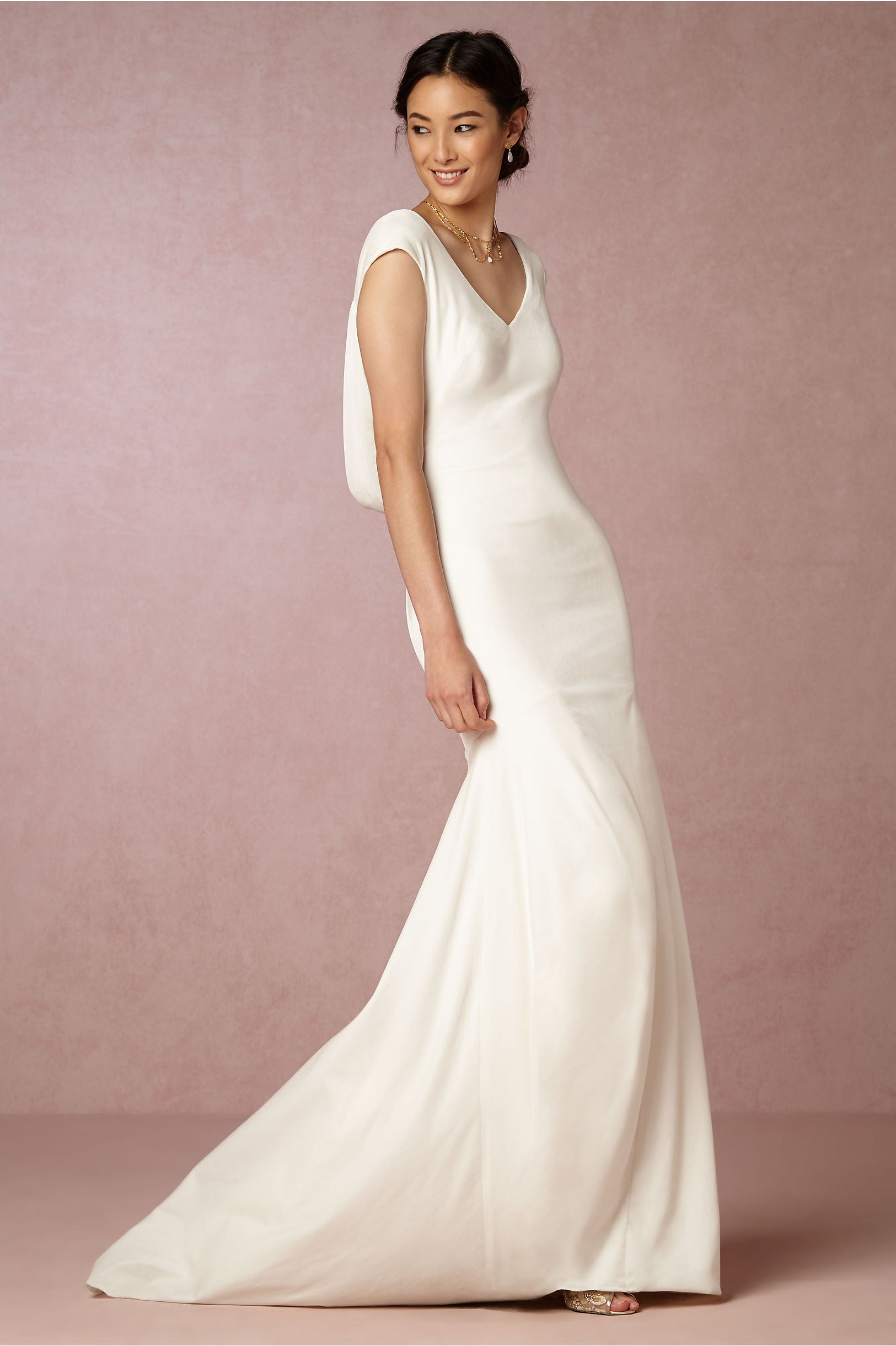BHLDN Theia Ingrid Velvet Gown - Adinas Bridal
