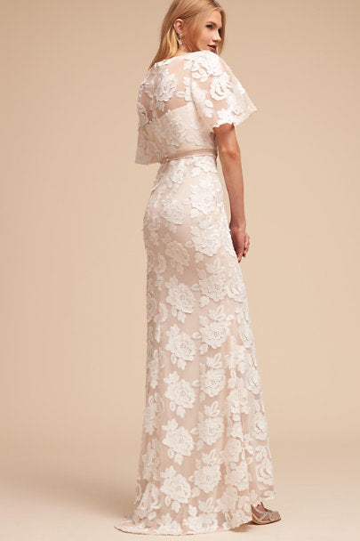 BHLDN Lotus Threads Fiona Leah Gown