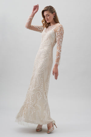 BHLDN Beyond the Sea Gown - Defects
