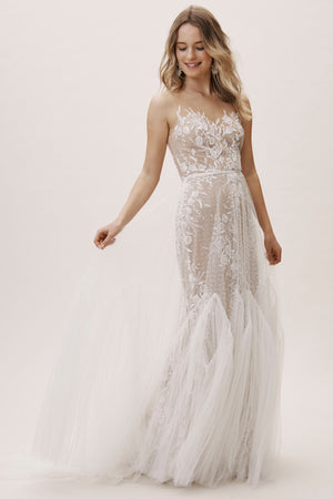 BHLDN Willowby Capricorn 52715 Gown - Defects