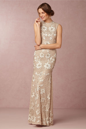 BHLDN Needle & Thread Astrid Gown
