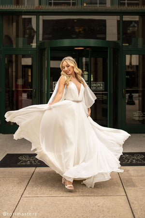 BHLDN Jenny Yoo Rivers Gown