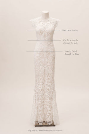 BHLDN Catherine Deane Merry Gown