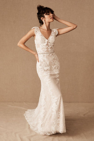 BHLDN Whispers & Echoes Milano Gown - Defects