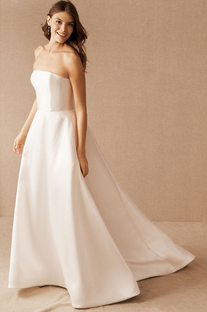 BHLDN Nouvelle Amsale Pina Gown