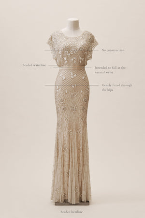 BHLDN Outer Sunset Gown