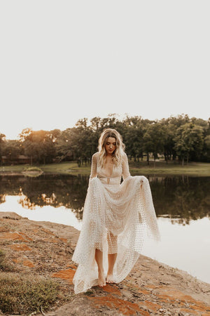 BHLDN Willowby Artemia Lunella Gown
