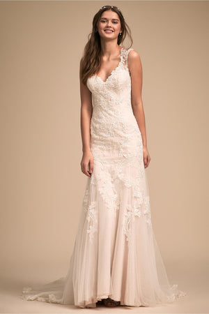 BHLDN Whispers & Echoes Lure of Lace Gown